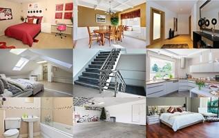 Pomieszczenia i części domu