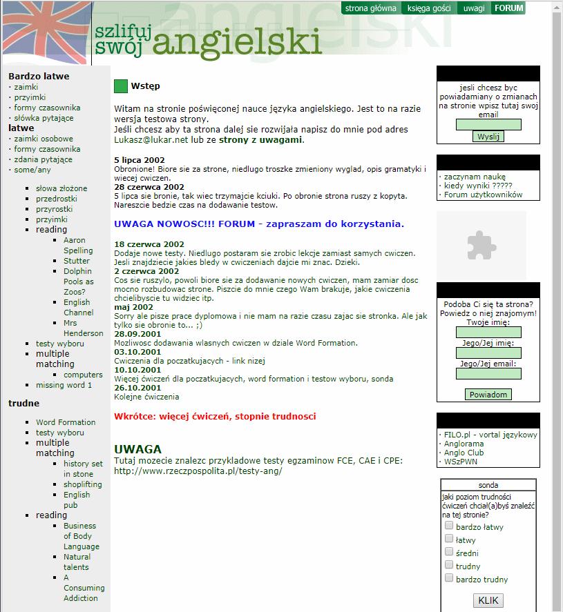 Szlifuj swój angielski 2001