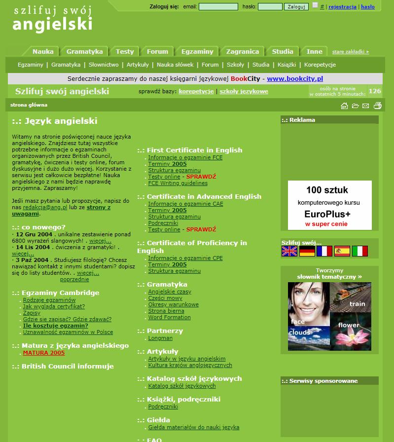 Szlifuj swój angielski 2005