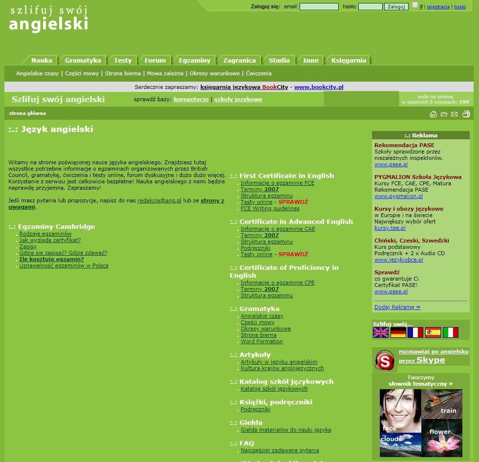 Szlifuj swój angielski 2007-2009