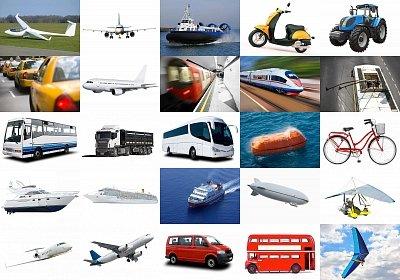 Znalezione obrazy dla zapytania środki transportu